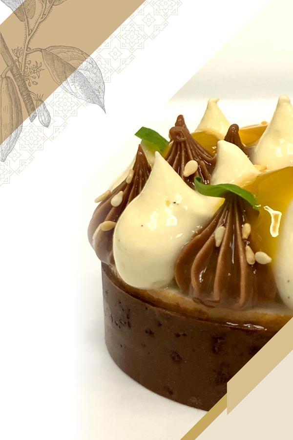 Ramadan recipes created by Cacao Barry Ambassador Chef Charles Azar