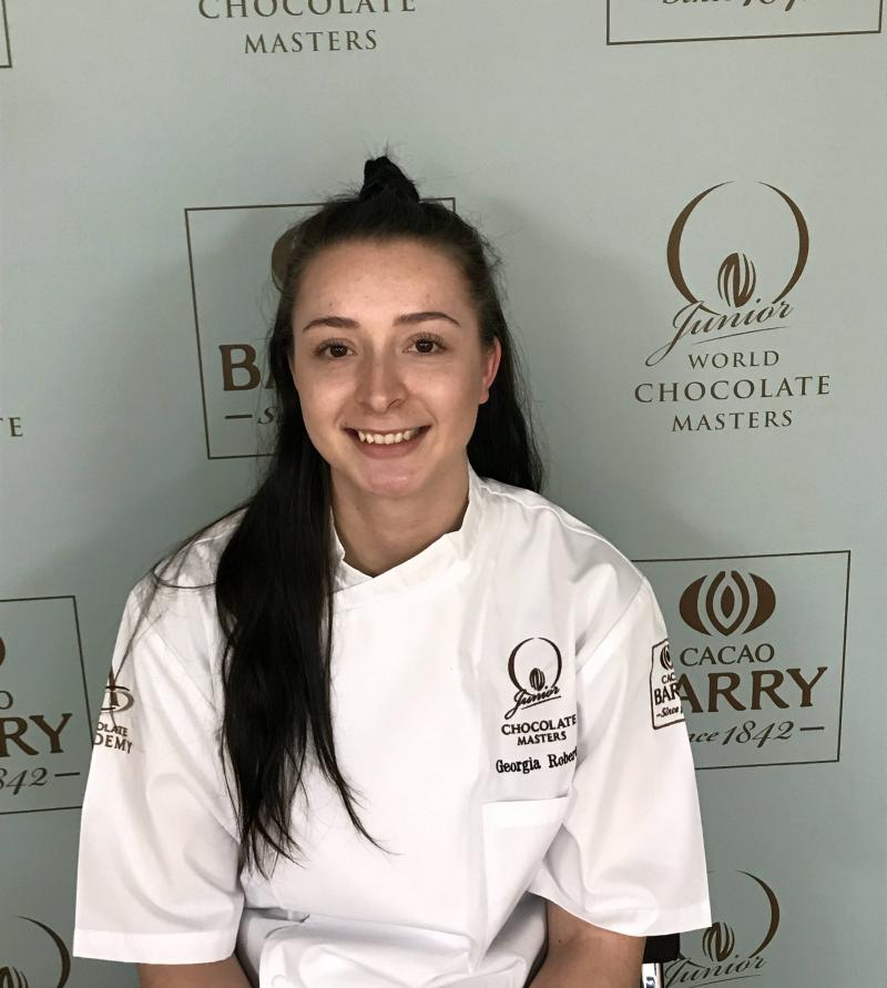 Georgia Roberts - UK&Ireland Junior Chocolate Masters