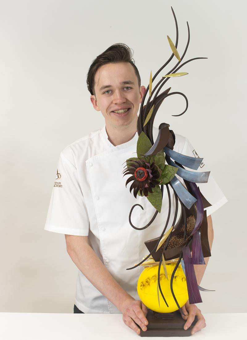 Benjamin Dufour - Winner of the UK&Ireland Junior Chocolate Masters
