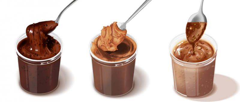 Recetario de cremas untables de chocolate