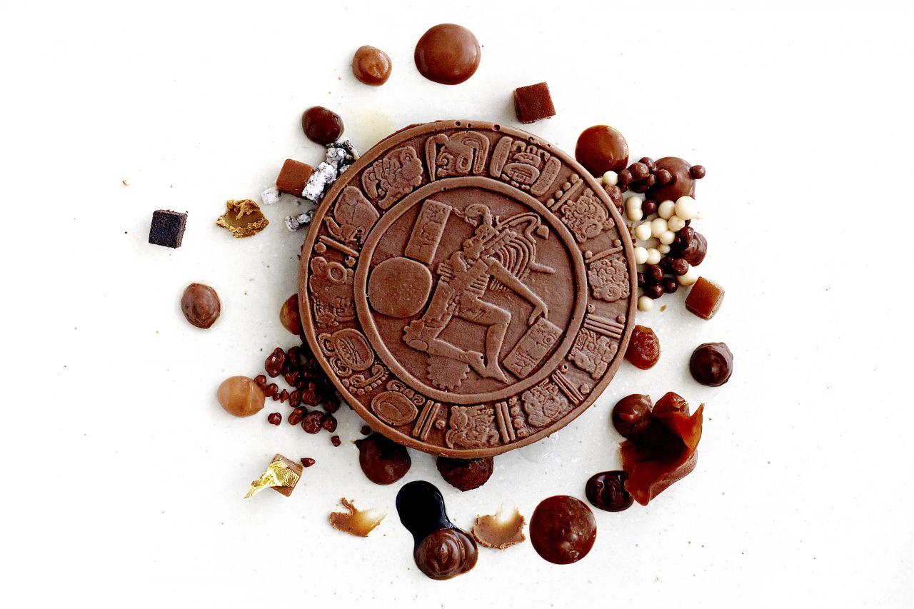 Chocolate Anarchy. Photo: El Celler de Can Roca