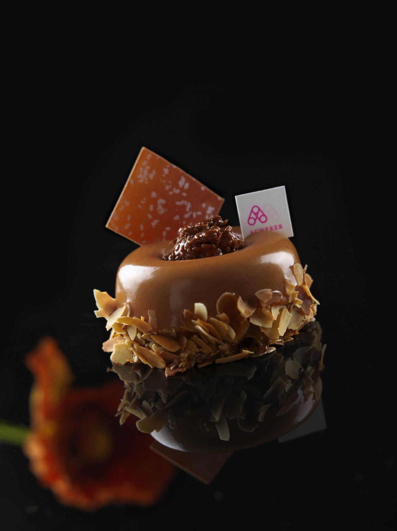 Chocolate dessert by Andreas Acherer