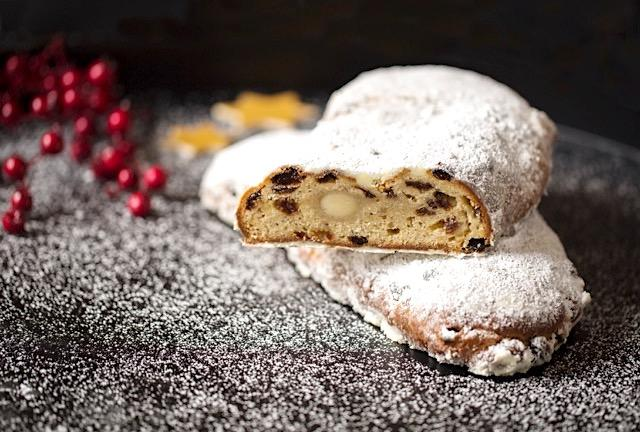 Stollen pudding from Cafe Royal
