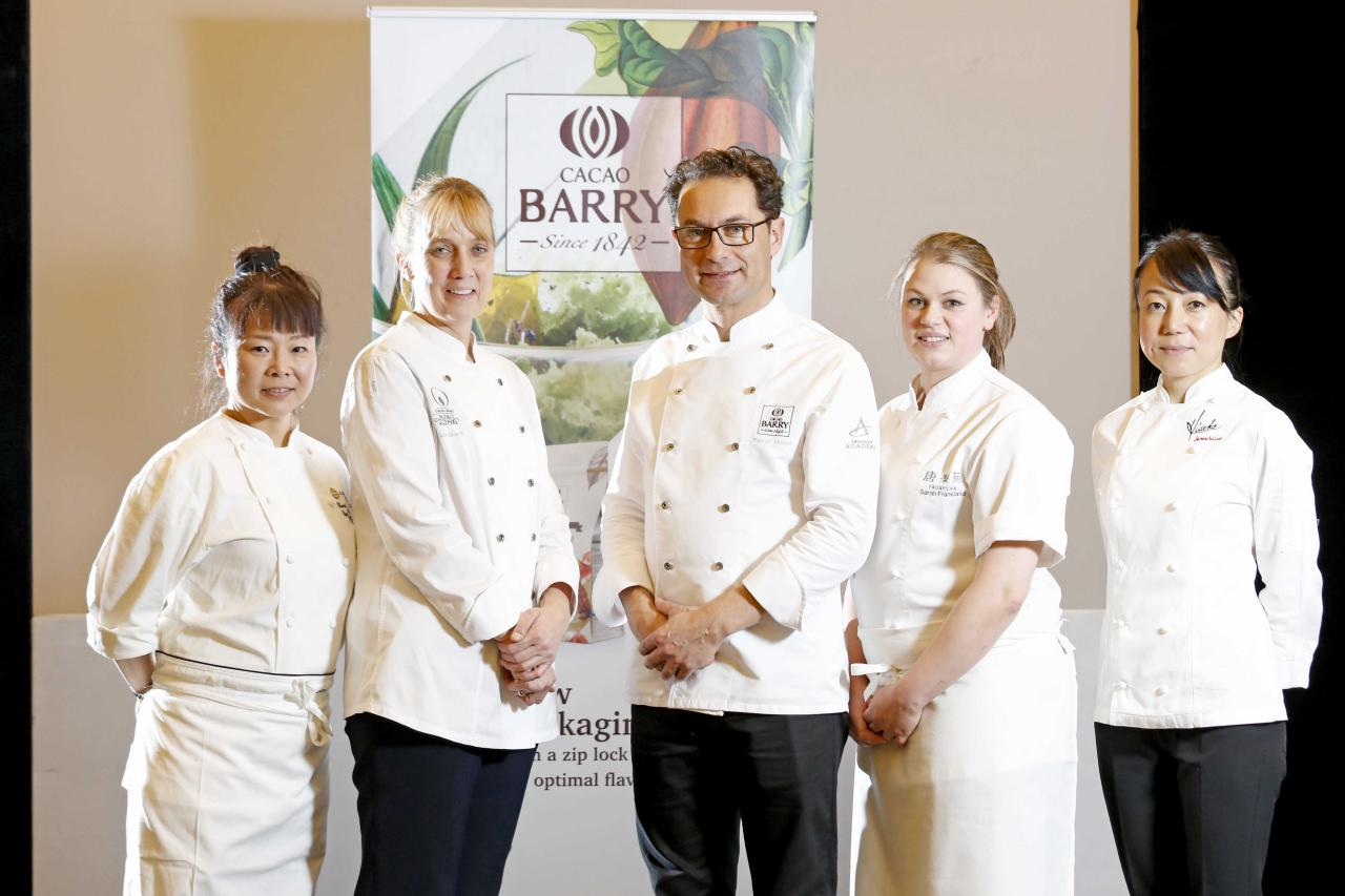 The pastry stars of the Cacao Collective event