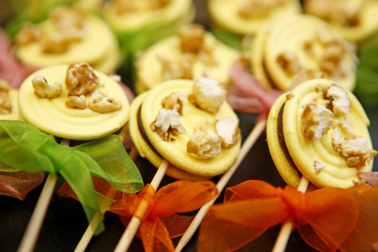 A-maize-ing lollipops by Cherish. Photo: Cacao Barry