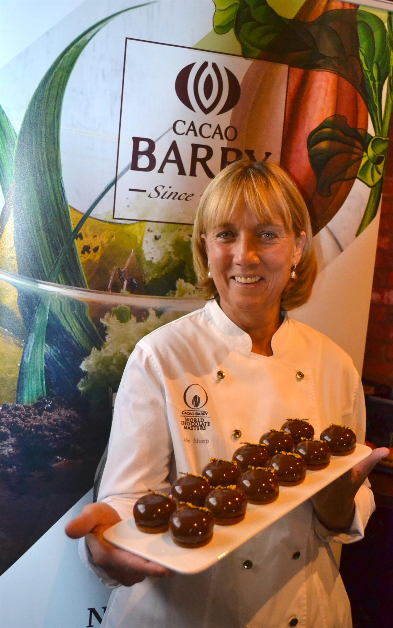 Julie Sharp created special desserts for the event