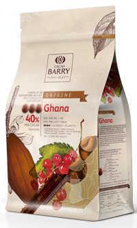 New packaging Origine chocolate Ghana