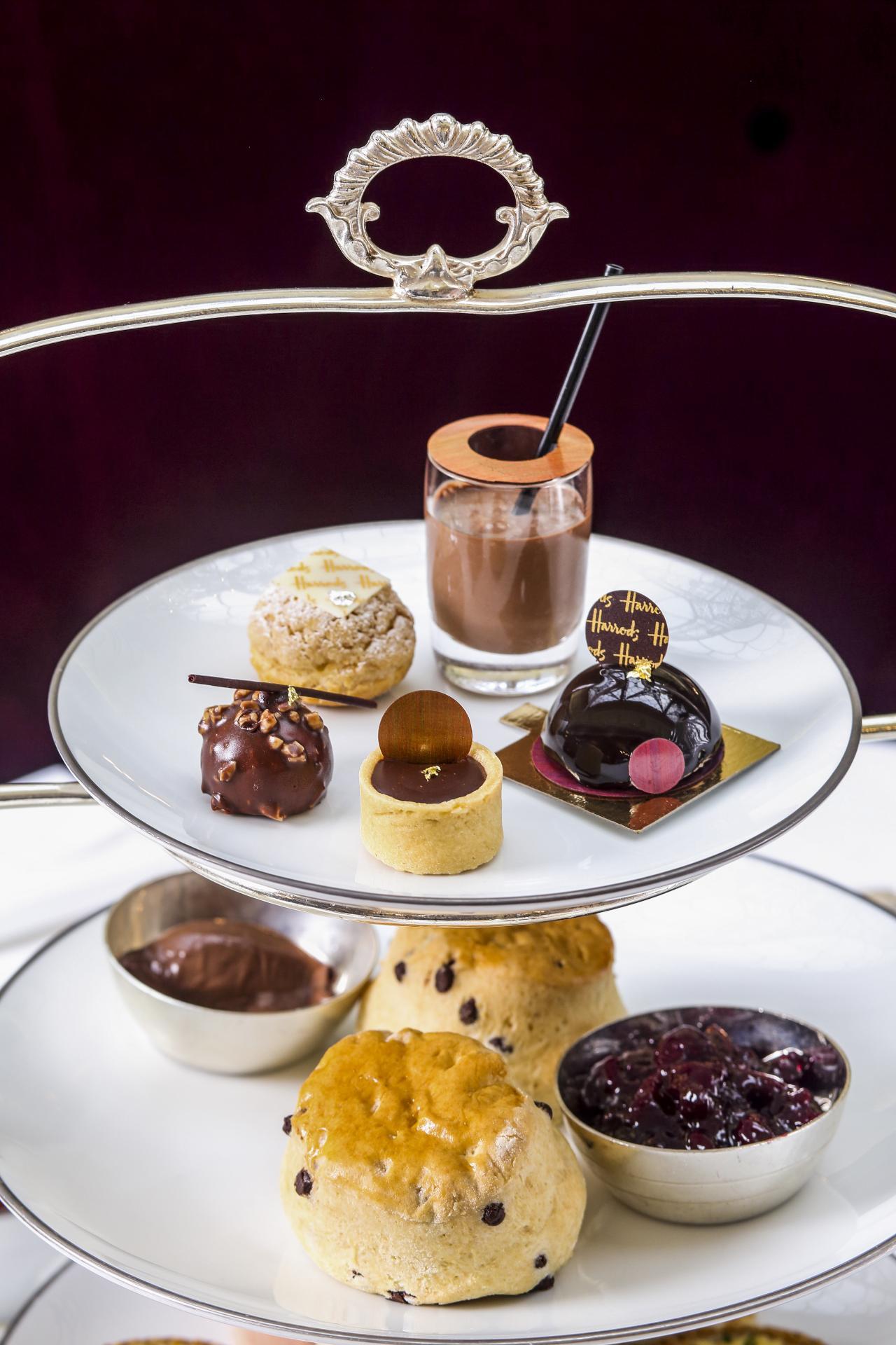 The Harrods Chocolate Afternoon Tea