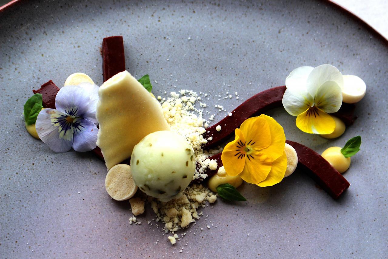 Erik Van Der Veken's dessert