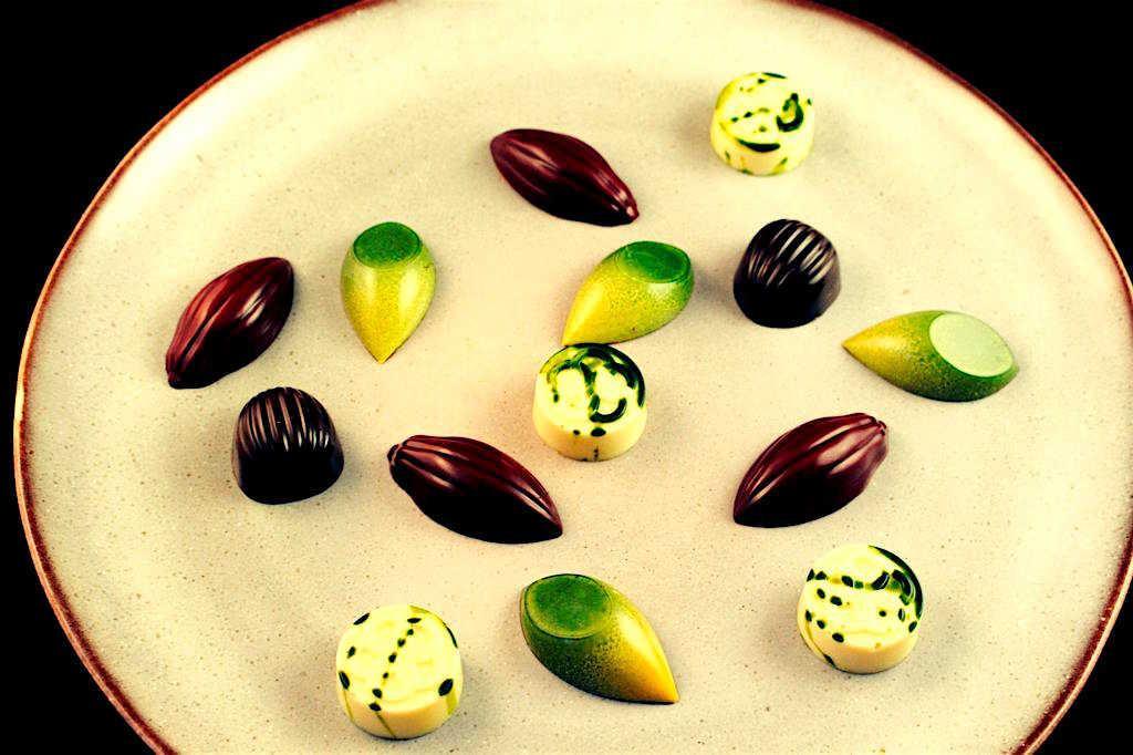 Erik Van Der Veken's bonbons
