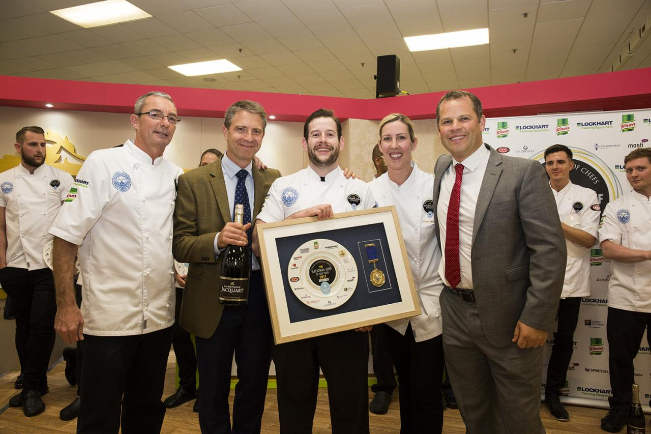 James Devine, National Chef of the Year