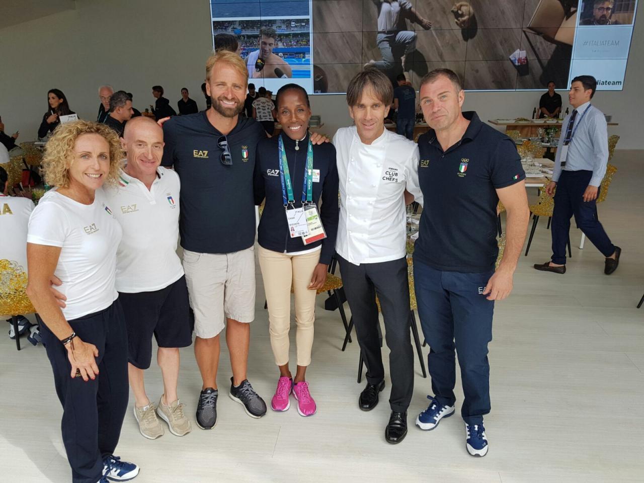 Davide Oldani at the Olympics in Rio