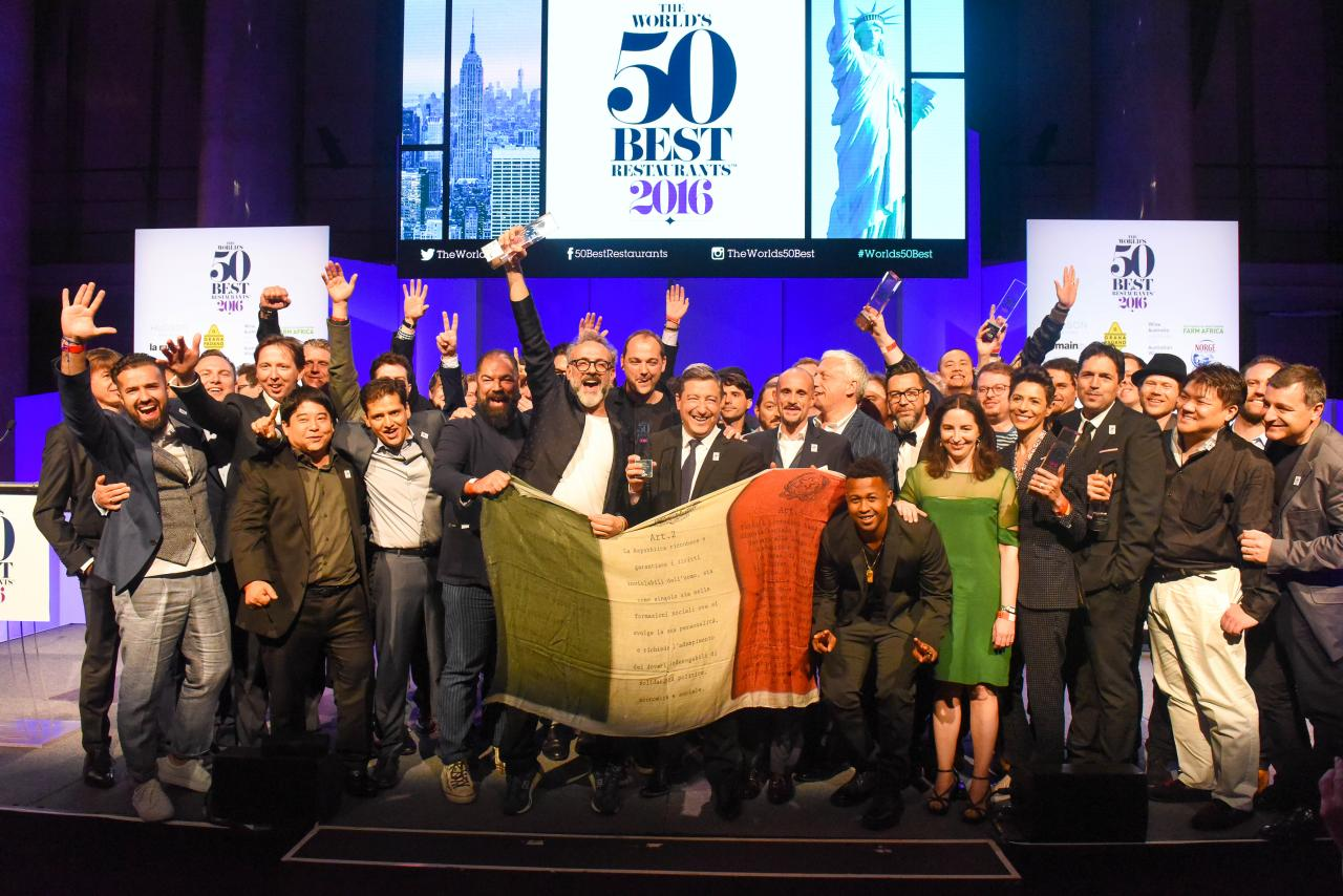Credit: World's 50 best restaurants