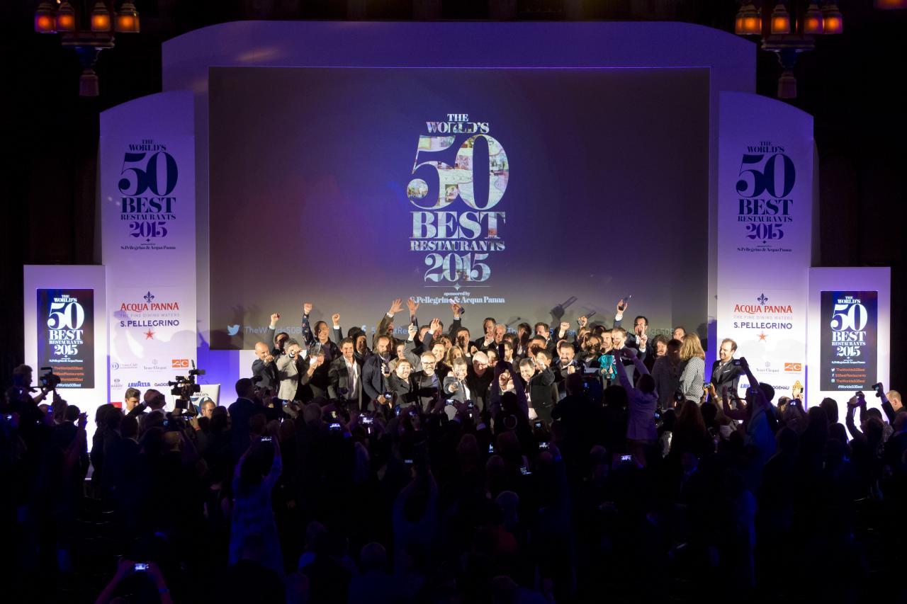 World's 50 Best Restaurants Awards Ceremony. Photo: onEdition Photography
