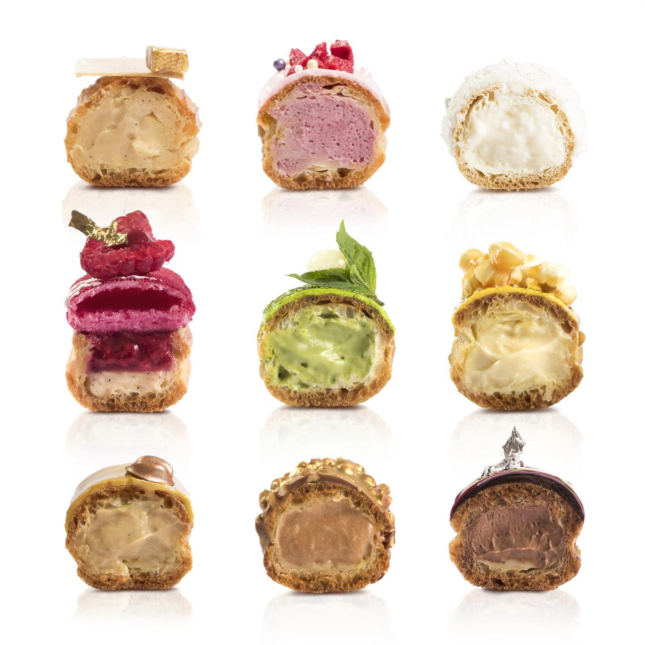 The inside of Maitre Choux eclairs. Photo: HdG Photography
