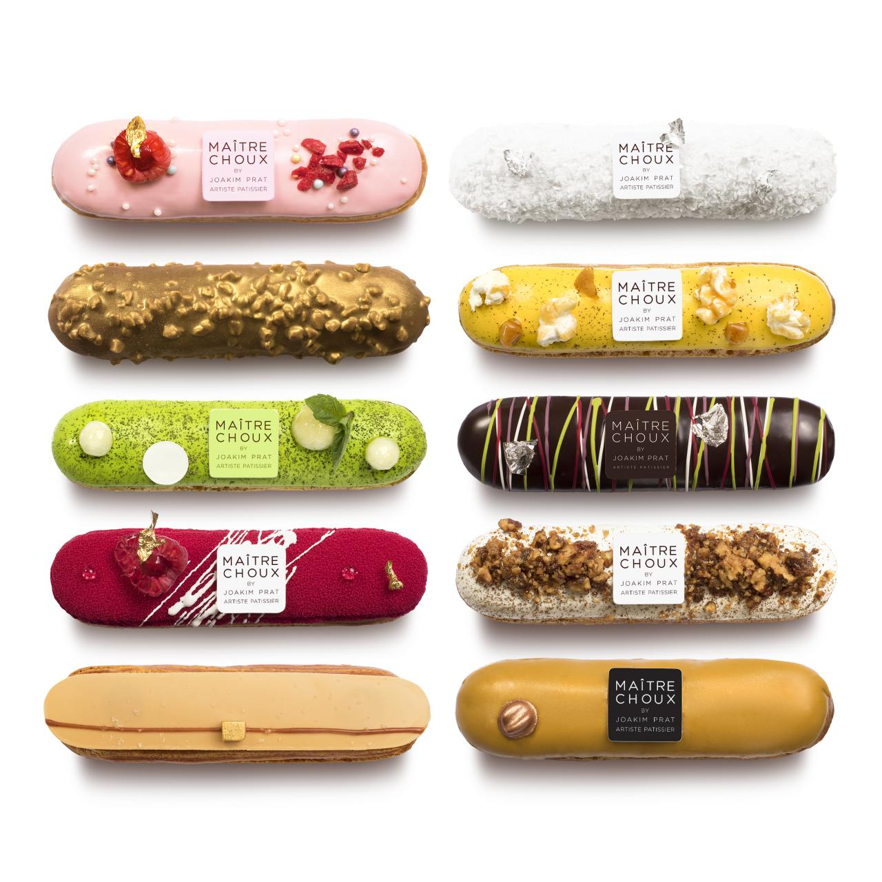Maitre Choux eclairs. Photo: HdG photography