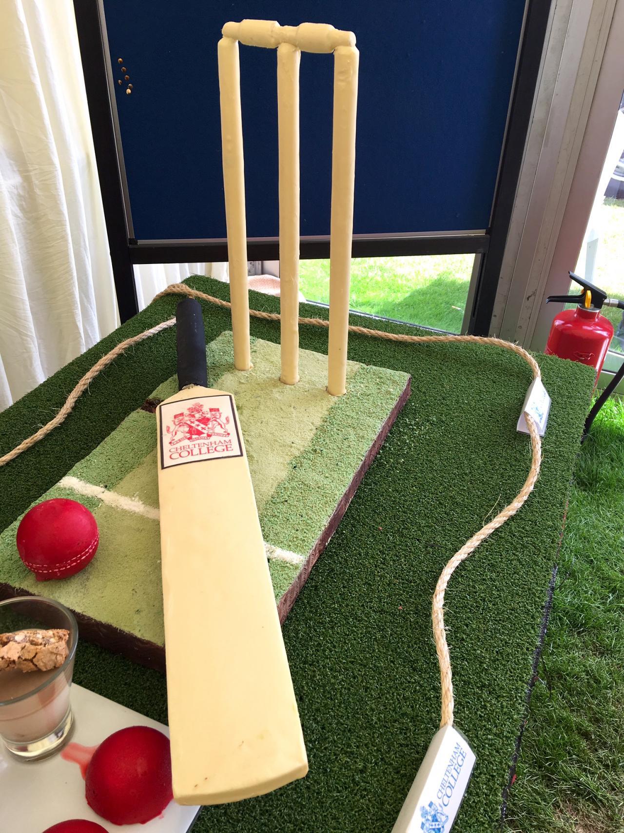 Samatha Rain's cricket showpiece