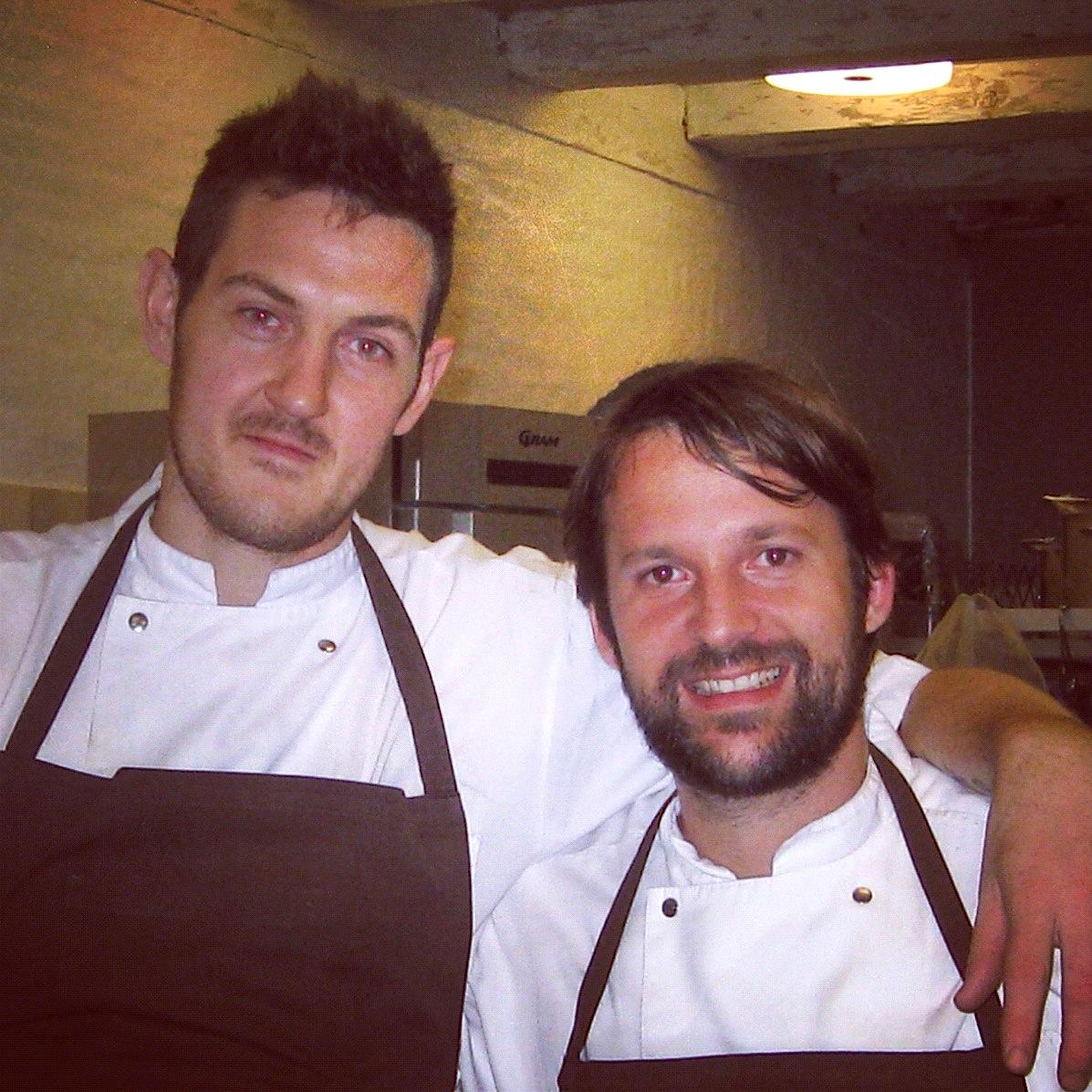 Chris Underwood with Rene Redzepi