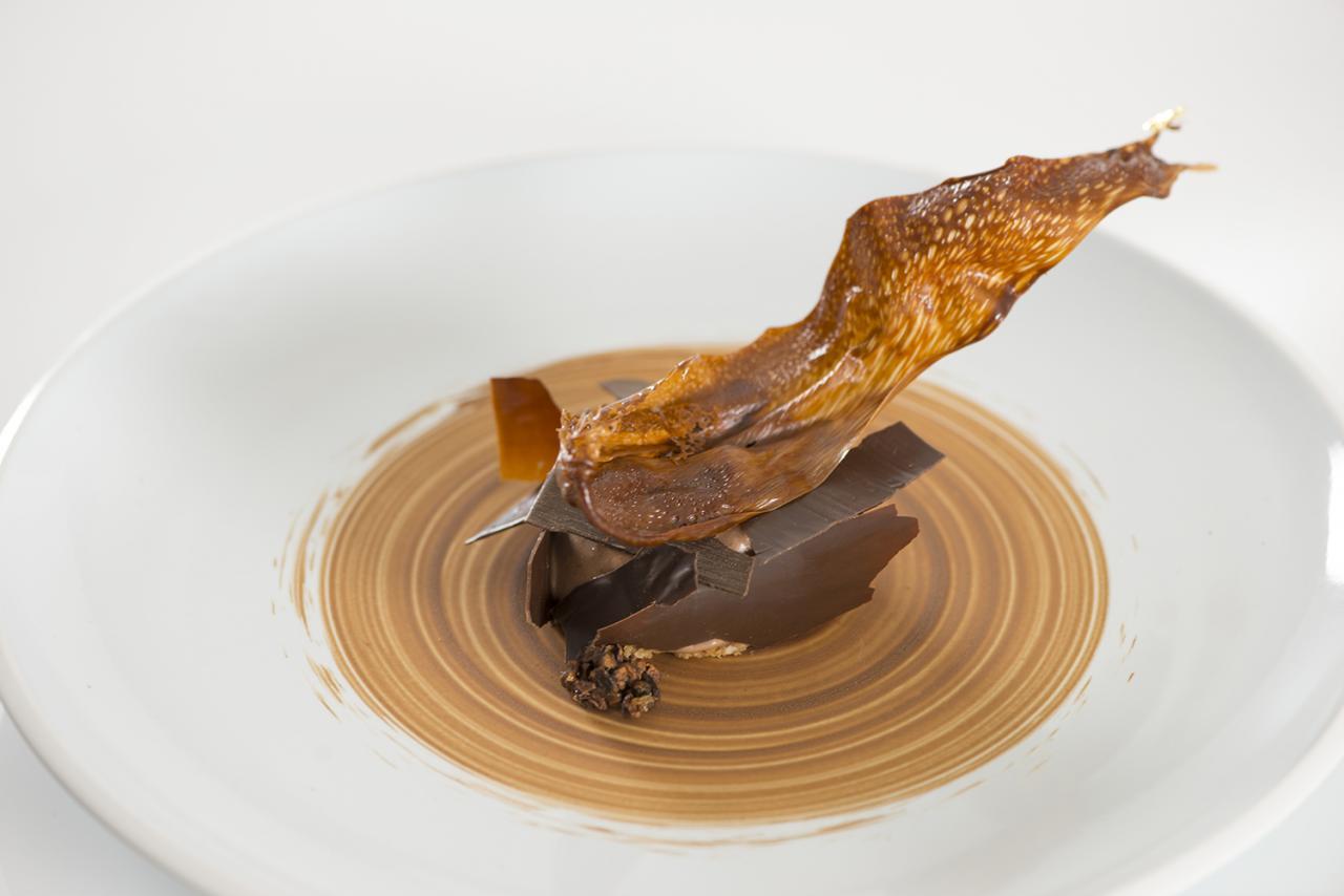 Benjamin Dufour - UK&Ireland Junior Chocolate Masters Dessert