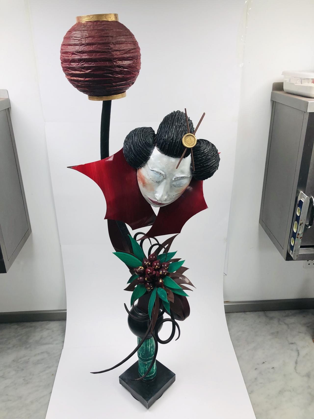 Adam Cleal - UK&Ireland Junior Chocolate Masters Showpiece