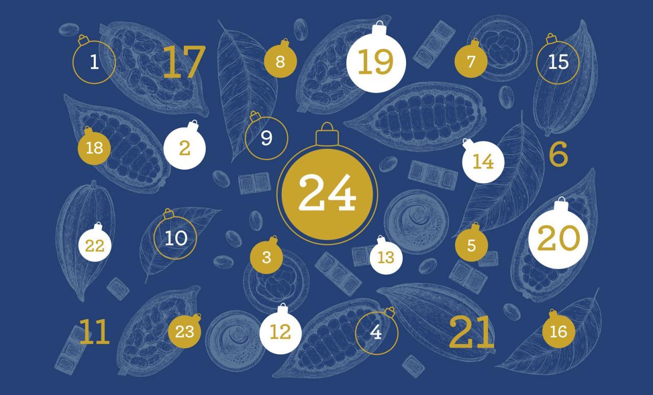Chocolate Advent Calendar 2019.Advent Calendar Promotion 2019 Cacao Barry