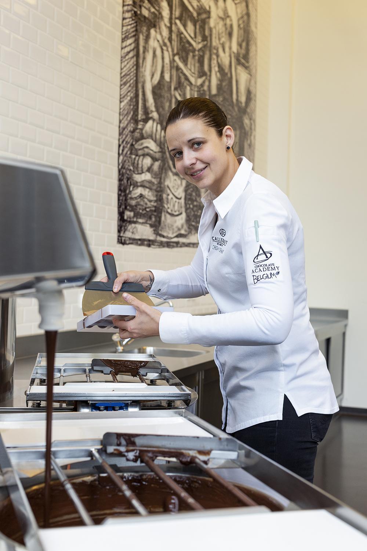 Christa Muyldermans - Jury UK&Ireland Junior Chocolate Masters Dessert