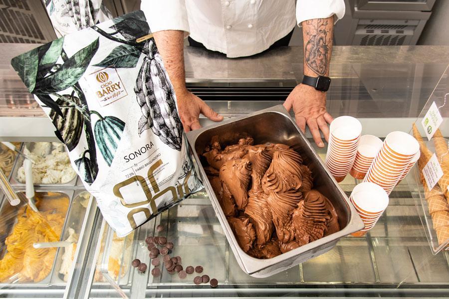 Fabio Brigliadoro ice cream