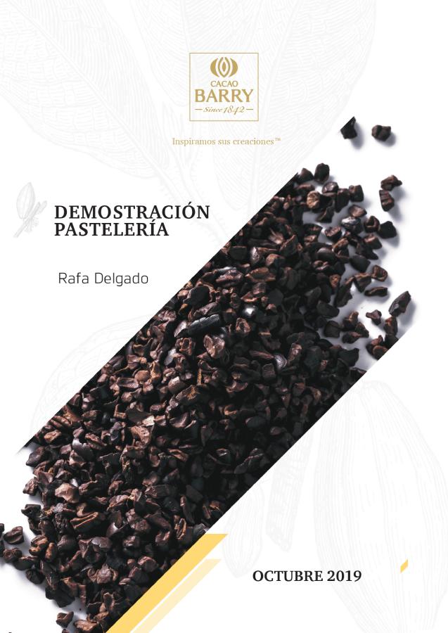 Cacao Barry recetario R Delgado