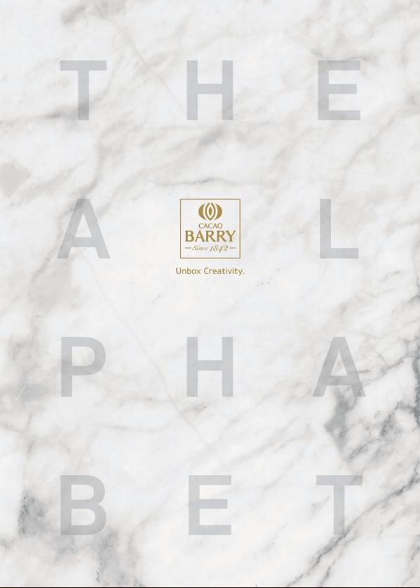 Cacao Barry Pastry Alphabet Boletines completos creativity