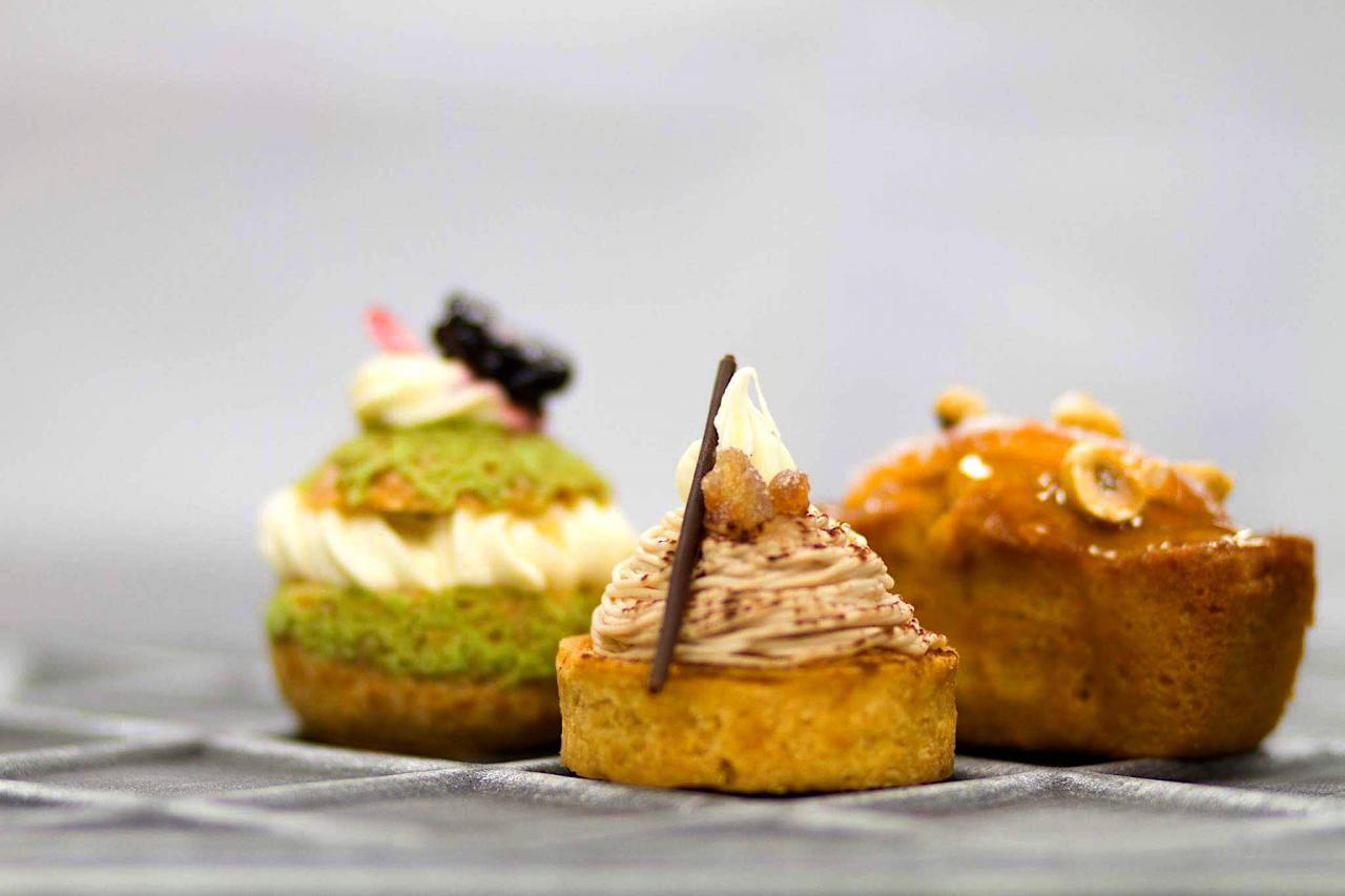 Desserts by Sarah Frankland