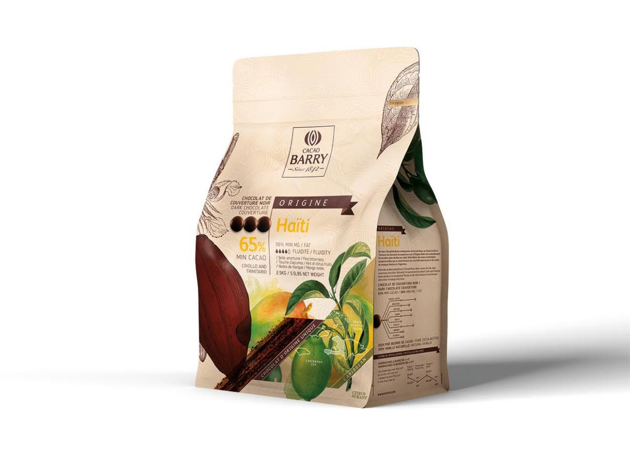 Cacao Barry Haiti Chocolate